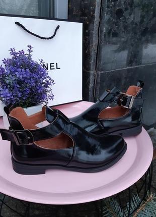 Туфли женские натуральная кожа1