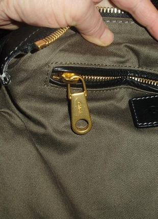 Chloé marcie кожаная сумка3