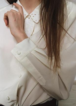 Винтажная блуза2