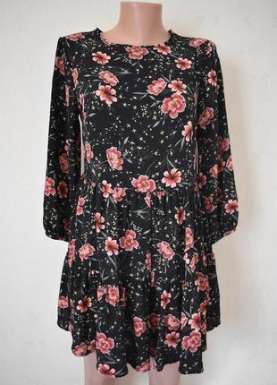 Новое красивое платье-ромпер с принтом new look1