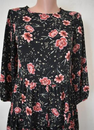 Новое красивое платье-ромпер с принтом new look2