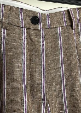 Итальянские брюки лён с вискозой3