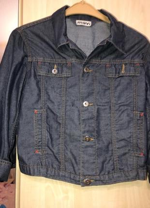 Джинсовый пиджачок1
