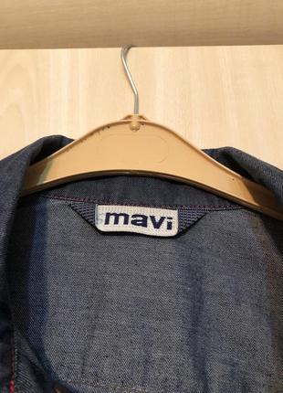 Джинсовый пиджачок2
