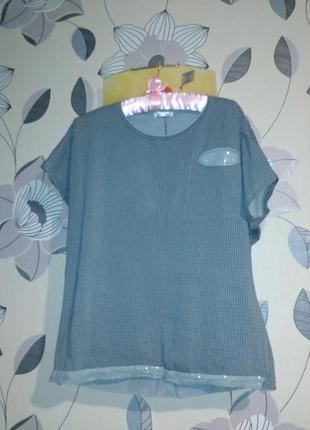 Женская футболка блуза1