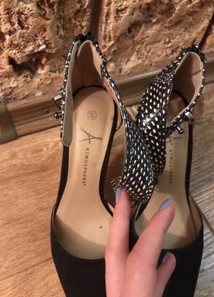 Туфли на шпильке4