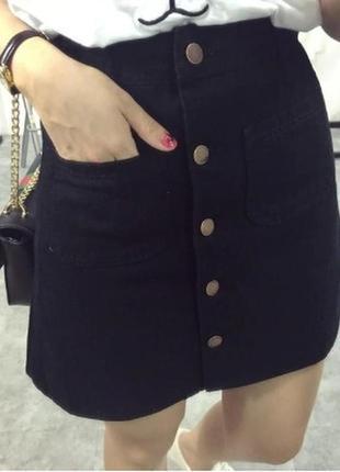 Юбка джинс1 фото