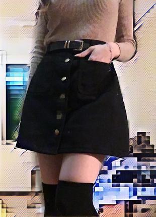 Юбка джинс2 фото