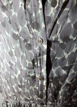 Легенькое платье вискоза и шелк comptoir des cotonniers2