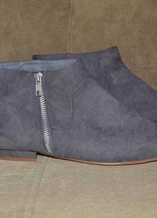 Ботинки замш1 фото