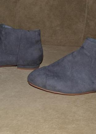 Ботинки замш4 фото
