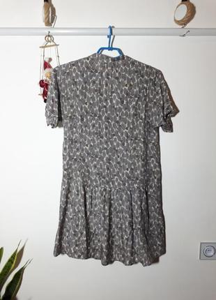 Легенькое платье вискоза и шелк comptoir des cotonniers6