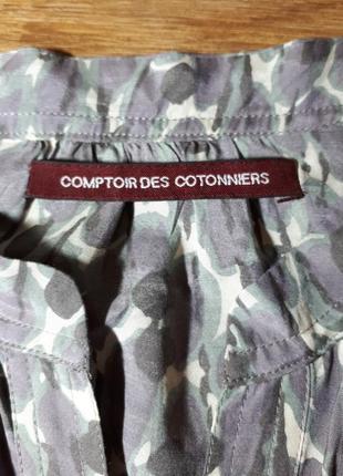 Легенькое платье вискоза и шелк comptoir des cotonniers8
