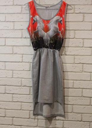 Платье с единорогом s1