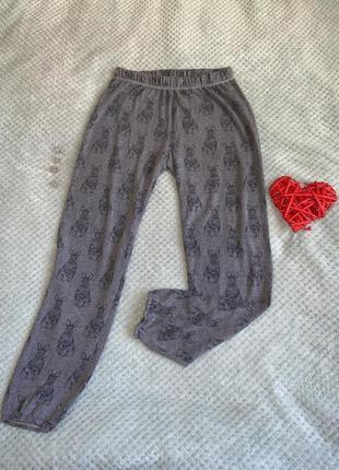 Спортивные штанишки с принтом 🐇🐰1 фото
