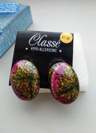 Гипоаллергенные сережки classe3