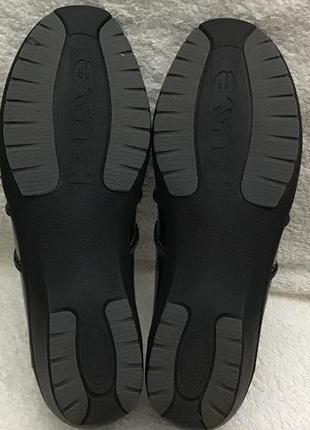 Туфли кожаные fly foot comfort vera pele 39 p8 фото