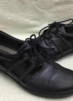 Туфли кожаные fly foot comfort vera pele 39 p4 фото