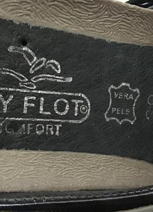 Туфли кожаные fly foot comfort vera pele 39 p9 фото
