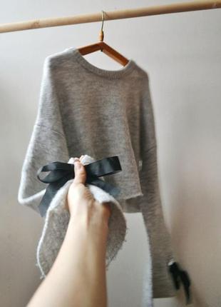 Укороченный свитер с рукавом-клеш primark1
