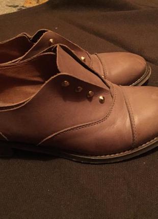 Туфли натуральная кожа2 фото