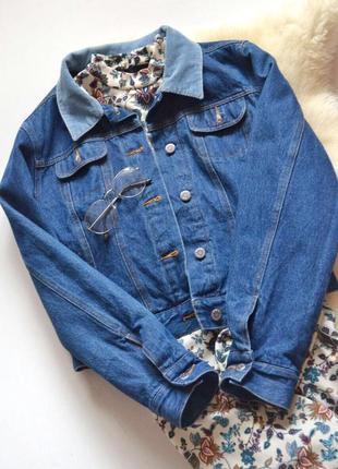 Тепленька джинсовка з вільветовим воротнічкоммаст хев🔥🔥🔥1