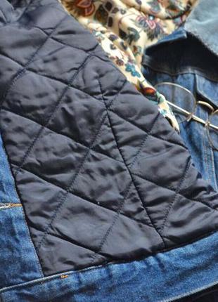 Тепленька джинсовка з вільветовим воротнічкоммаст хев🔥🔥🔥4