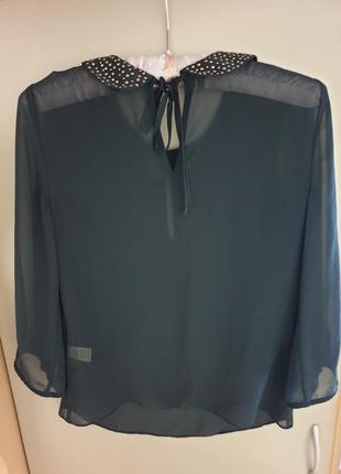 Стильная, легкая блуза рукав 3/4 размер 44-464
