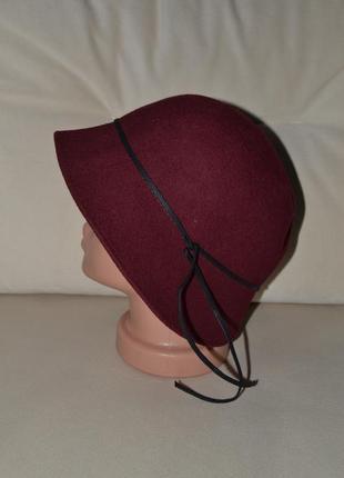 Шляпа шапка100%шерсть1 фото