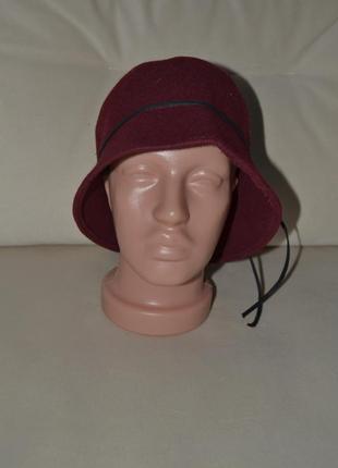 Шляпа шапка100%шерсть2 фото