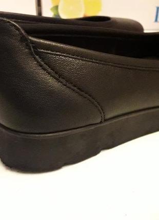 Medicus шкіряні туфлі на широку ногу 39 р.3 фото