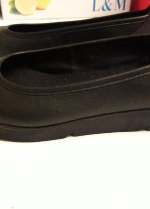 Medicus шкіряні туфлі на широку ногу 39 р.4 фото