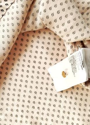 Крепко шифоновое платье h&m воздушное струящееся по талии5