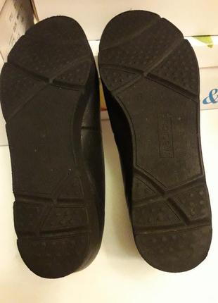 Medicus шкіряні туфлі на широку ногу 39 р.5 фото