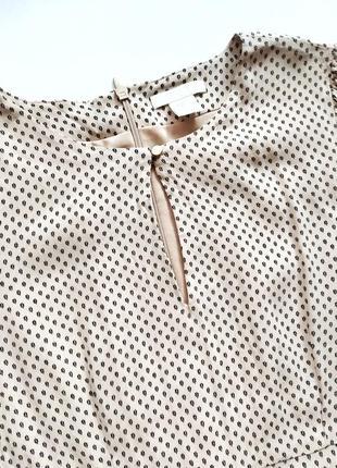 Крепко шифоновое платье h&m воздушное струящееся по талии10