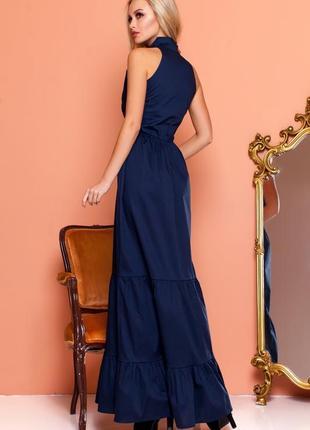 Эффектное длинной платье2