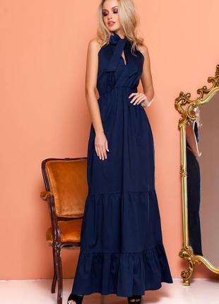 Эффектное длинной платье3