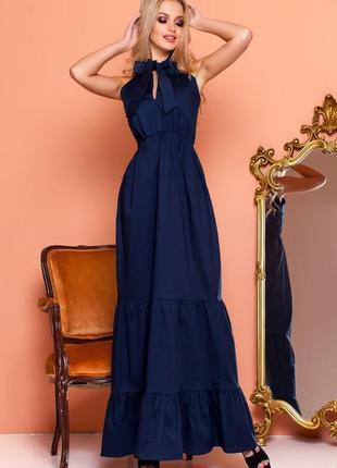 Эффектное длинной платье1