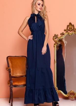 Эффектное длинной платье4