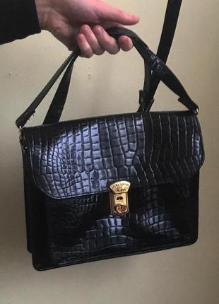 Супер винтажная сумочка через плече