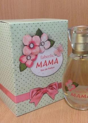 "Парфюмерная вода ""mama"" (мама)2"