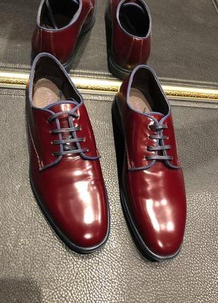 Бордовые туфли -дерби  от andre.2