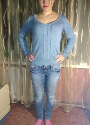 Комплект джинсы и свитер1