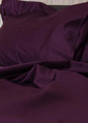 Постельное бельё «laconic» - eggplant
