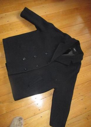 Очень модный короткий френч пальто из шерсти оверсайз the outerwear1