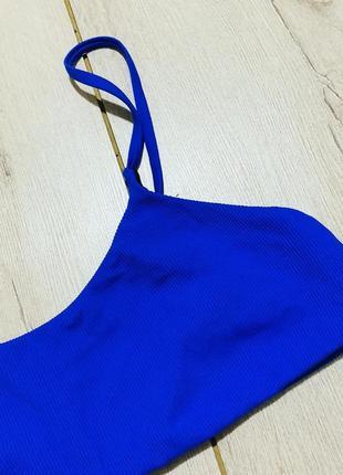 Шикарный верх от купальника ярко синего цвета4