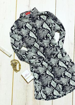 Платье блузка змеиного принта beauty angel1