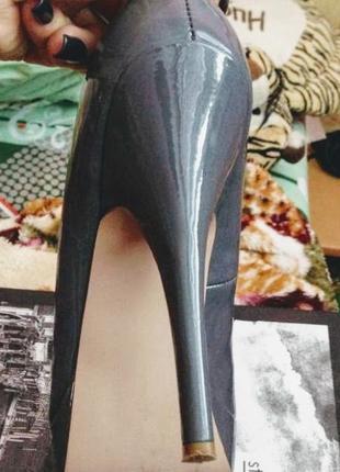 Очень красивые стильные туфли насыщенный лак4