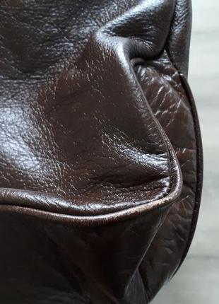 Сумка кожа натуральная италия5