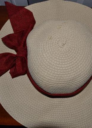 Шляпка панамка летняя1 фото
